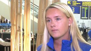Iina Salmi, damlandslaget i fotboll, H:fors i september 2016