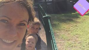 Muusikko Mira Luoti ja lapset