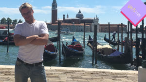 Mikael Jungner Venetsiassa