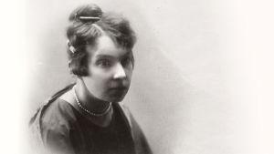 Kirjailija L. Onerva