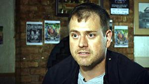 Doktor James Treadwell från Universitetet i Birmingham, Storbritannien.
