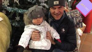 Sedu Koskinen ja tytär