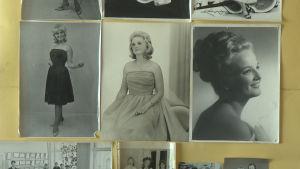 wivan på fotografier som ung