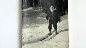 wivan åker skidor som ung