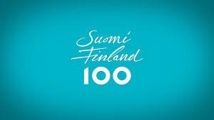 Suomi 100 -logo