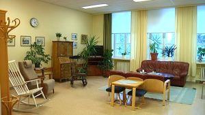 Den mobila avdeliningen på Ekåsens sjukhus.