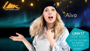 UMK17-kilpailija Alva