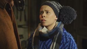 Rollfiguren Lillspiken spelas av Maya Klingenberg