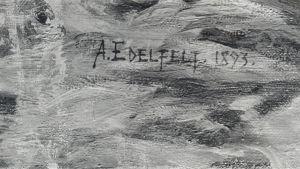 Förfalskning av Edelfelts signatur.