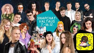 UMK17-kilpailijat, Snapchat-kampanjakuva