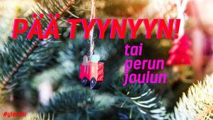 Pää tyynyyn tai perun joulun!