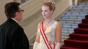 Nicole Kidman näyttelee Grace Kellyä 1960-luvun alkuun sijoittuvassa elokuvassa.