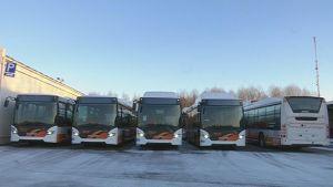 Vasas nya biogasbussar.