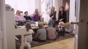 Familjen Grüssner medverkar i Cirkus Familj.