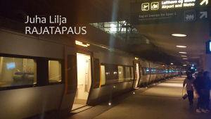 Juna asemalla