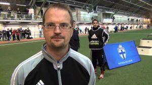 Marko Viitanen jobbar som juniorchef på Finlands Bollförbund