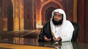 Mies moskeijassa