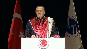 Turkin presidentti Recep Tayyip Erdogan