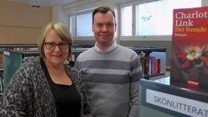 Stina Michelson och Andréas Palmborg är lektorer i tyska vid Tölö gymnasium.