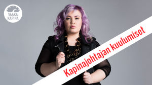 Vaakakapinan Kapinajohtaja Jenny Lehtinen