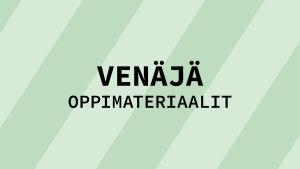 Navigaatiokuva aineen venäjä oppimateriaaleille.