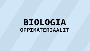 Navigaatiokuva aineen biologia oppimateriaaleille.
