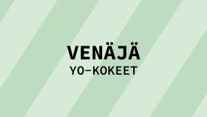 Navigaatiokuva aineen venäjä yo-kokeille.