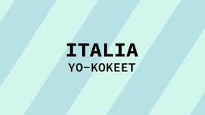 Navigaatiokuva aineen italia yo-kokeille.