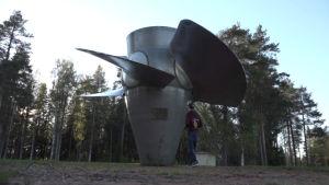 Voimalaitoksen turbiinipyörä