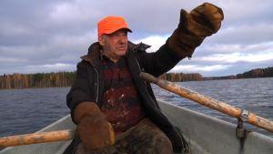 Kala-aktiivi Manu Räsänen