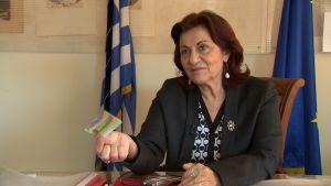 Greklands socialminister Theano Fotiou