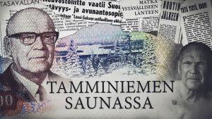 Tamminiemen saunassa -sarjan pääkuva