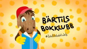 Logo för läskampanjen Bärtils bokklubb