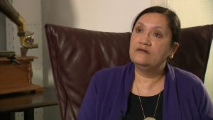 Den före detta FN-anställta Asmita Naik som slog larm om de sexuella övergreppen i Västafrika 2001.