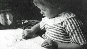 Tove Jansson som barn