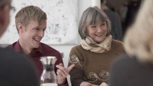 Miro Cedercreutz och Jill Christiansen