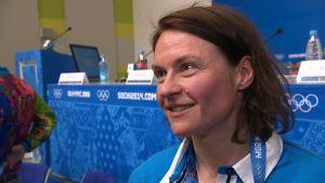 Riikka Välilä under OS 2014.