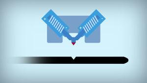 grafiikka vinyylilevyn kaiverrusperiaatteesta