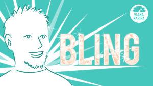 Pasi haluaisi olla blingbling