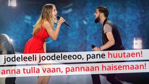 Euroviisujen 2017 käännöstekstiä