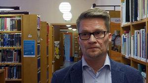 Thomas Grönholm, bildningsdirektör i Lovisa