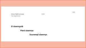 Näyttö kuva MS Word:sta, kuvissa neuvotaan sisennysten tekoa.
