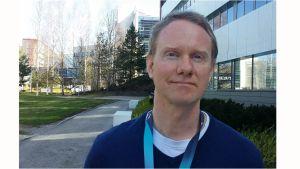HERE Technologiesin karttaekspertti Samuli Lehtonen.