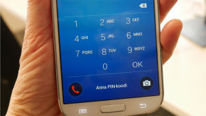 Bild på en telefonskärm.