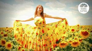 Auringonkukkatyttö