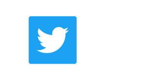 Twitterin sovelluksen logo.