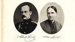 Arvid Lindin vanhemmat Knut ja Ebba Lind.