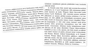 Sofia Arentin oikeuskäsittelyn tietoja Lakimies-lehdessä 1.1.1908