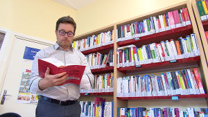 Nicolas Moizard som är professor arbetsrätt vid universitetet i Strasbourg
