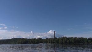 Tampereen Eteläpuisto Pyhäjärven rannalla